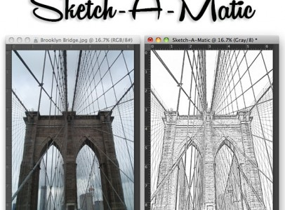Photoshop Sketch Effect